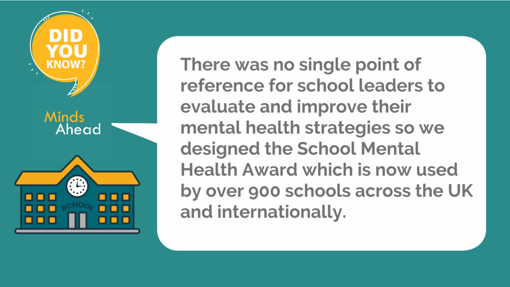 Mental health support in schools School Mental Health Award